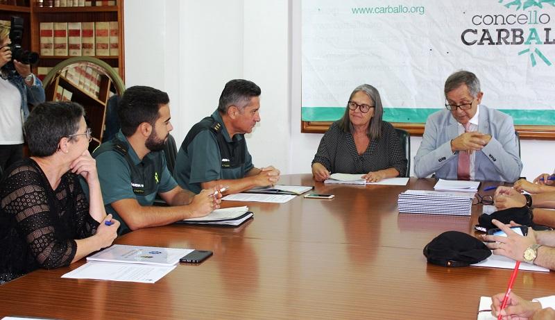 Montse García, Juan Puga, Evencio Ferrero e Marcos Trigo presentaron hoxe a carreira