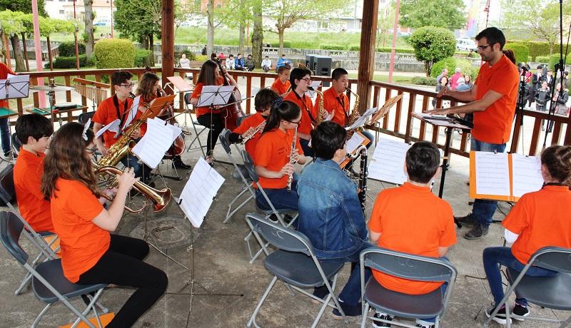 A Banda Xuvenil de Música do Conservatorio actuará o Día das Letras
