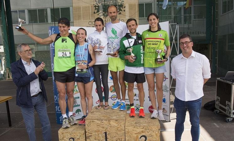 Gañadores/as da categoría absoluta (FOTO: Basilio Bello-La Voz de Galicia)
