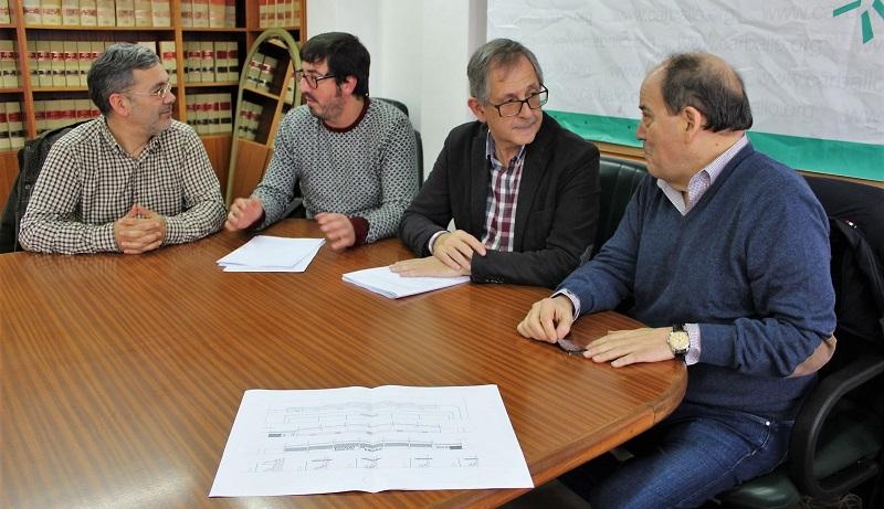 Juan Lorenzo, Marcos Trigo, Evencio Ferrero e Luciano Calvo