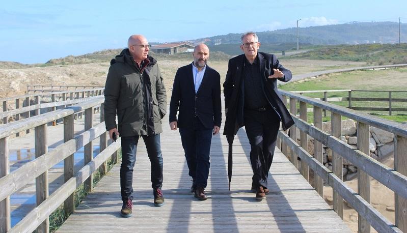 Xosé Regueira, Néstor Rego e Evencio Ferrero