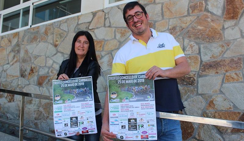 Vanesa Loureiro e Marcos Trigo presentaron hoxe a proba