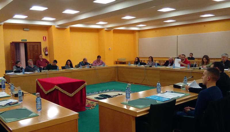 Sesión plenaria do mes de decembro