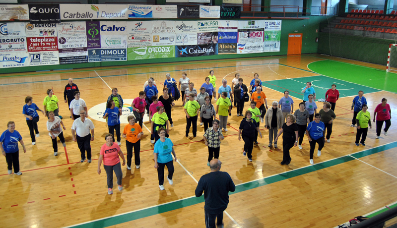 550 persoas maiores de 60 anos participan no Programa de Exercicio Físico gratuíto que chega a dez parroquias