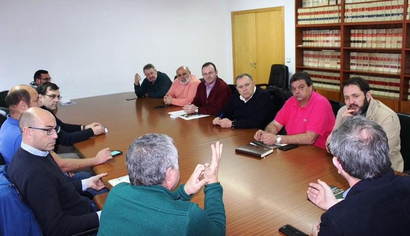 A xuntanza celebrouse na Casa do Concello