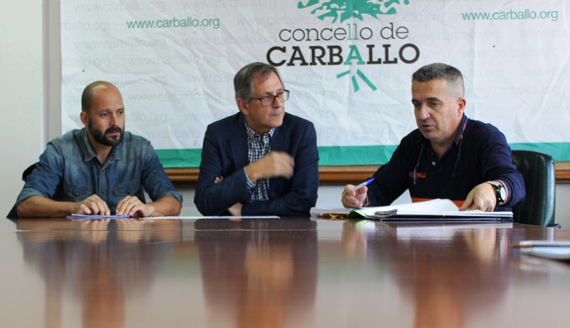 Miguel Vales, Evencio Ferrero e Javier Souto presentaron hoxe o balance da temporada