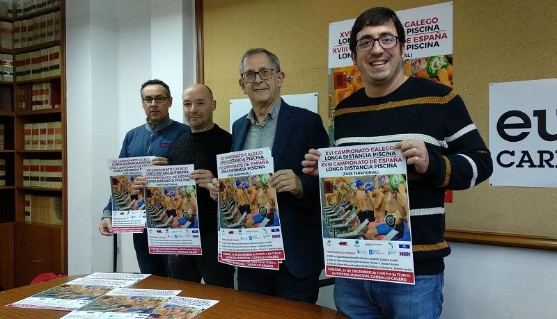 Ramón Mosquera, Gustavo Álvarez, Evencio Ferrero e Marcos Trigo