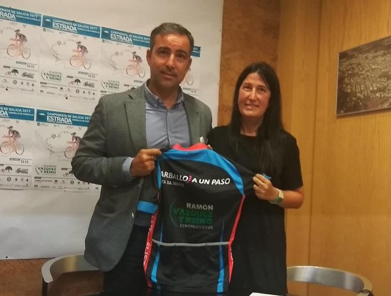 Diego Vázquez e Vanessa Loureiro asinaron un convenio de colaboración