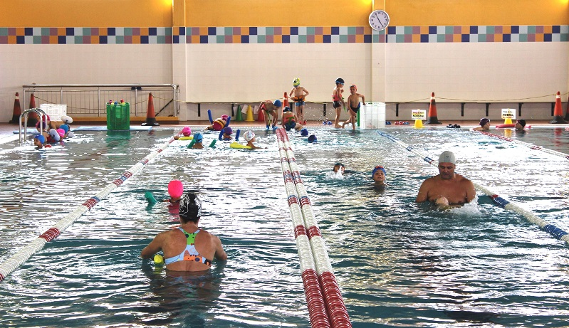 A natación é a actividade con máis demanda