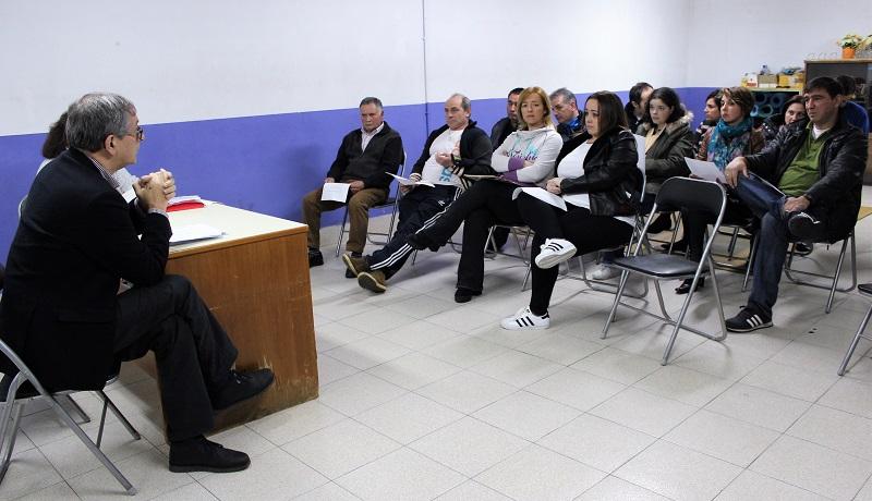 O Consello Parroquial de Entrecruces retoma a demanda do deslinde cos concellos de Coristanco e Tordoia