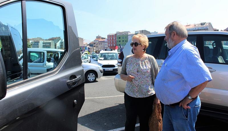 Belén Lendoiro e Luis Lamas visitaron a feira o sábado pola mañá