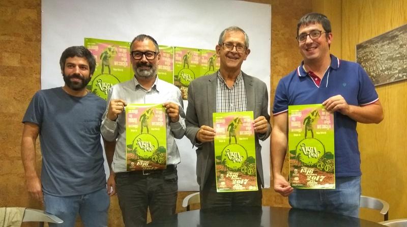 Maikel Pérez Castro, Xabier Graña, Evencio Ferrero e Marcos Trigo