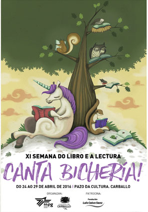 Cartaz Programa Semana do Libro 2016