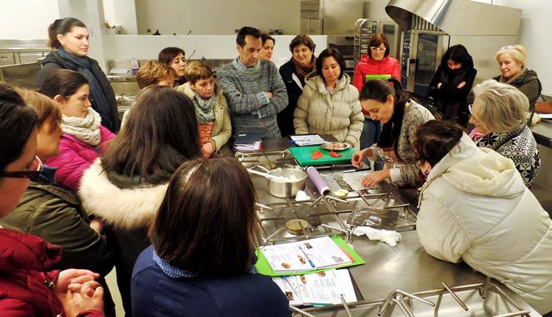 Curso de cociña no Fórum Carballo