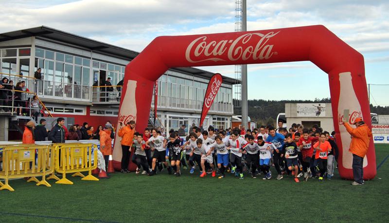 500 escolares participaron no Campo de As Eiroas na fase local da Carreira de Campo a Través de Carballo