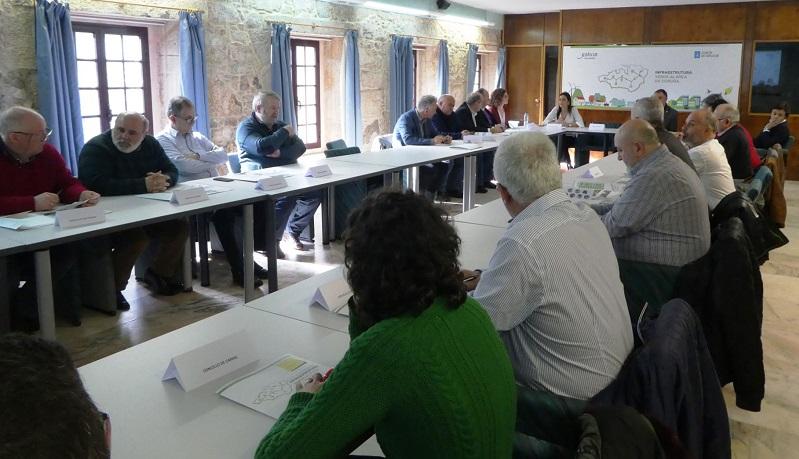 Evencio Ferrero e Luis Lamas asistiron á presentación do proxecto da Infraestrutura Verde