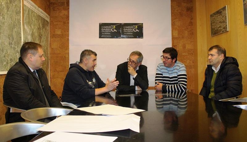 Javier Andrade, Manuel Cantelar, Evencio Ferrero, Marcos Trigo e Manuel Pallas
