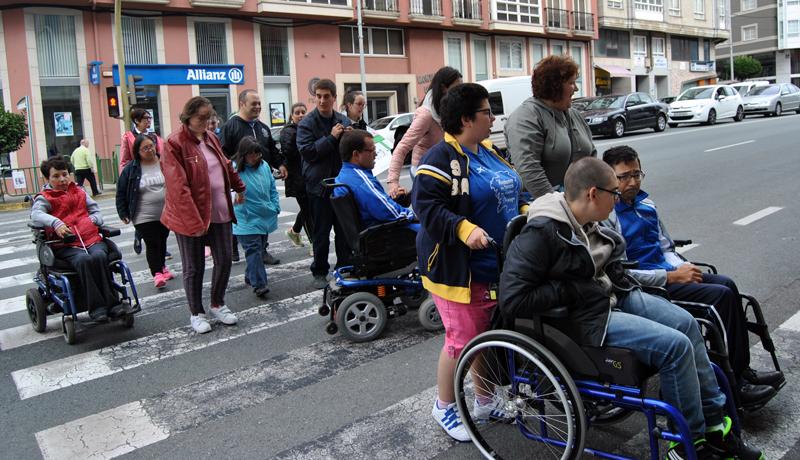 Unha das actividades da I Semana Europea da Mobilidade, celebrada en setembro