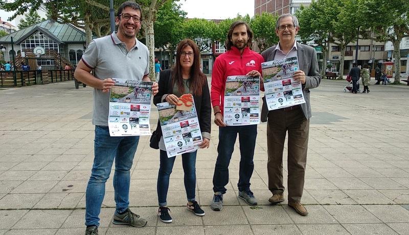 Marcos Trigo, Vanesa Loureiro, Juan Seoane e Evencio Ferrero presentaron o cartel do trofeo